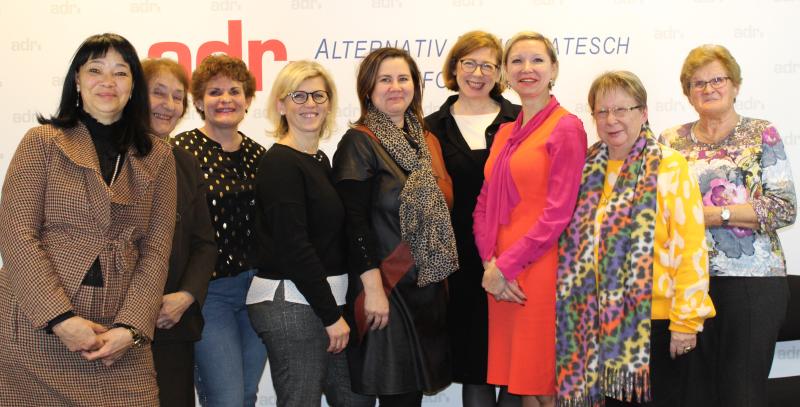 Sylvie Mischel als Presidentin vun den ADR Fraen erëmgewielt