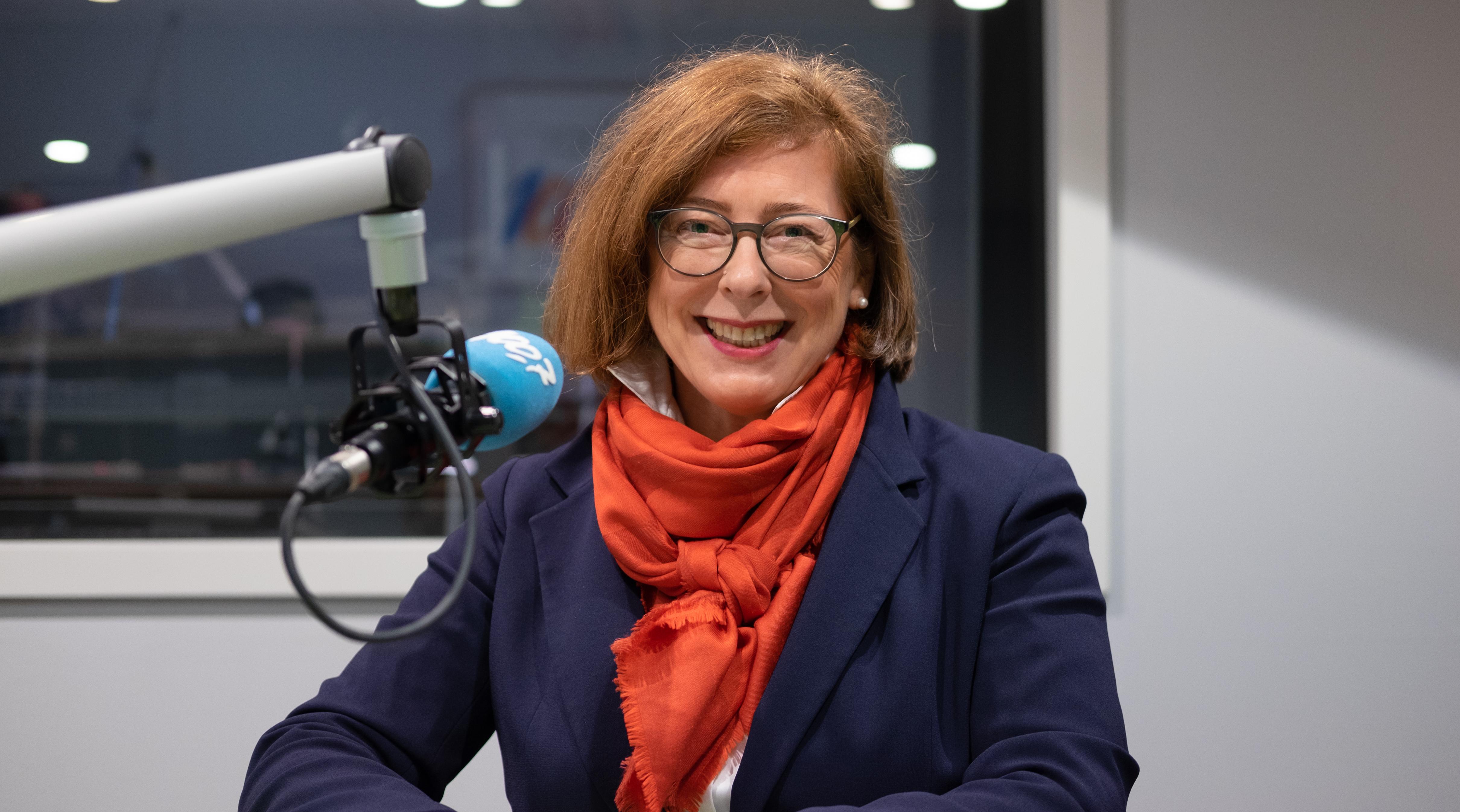 Sylvie Mischel op 100Komma7