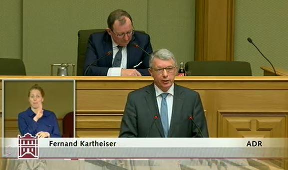 De Rechtsstaat och a Krisenzäite respektéieren!
