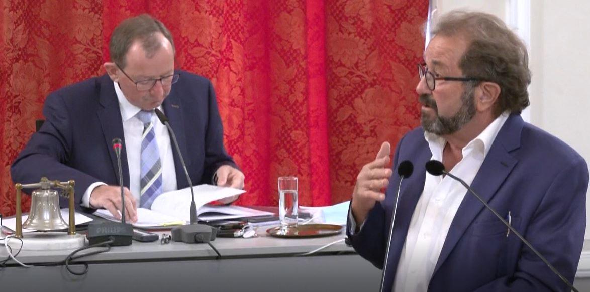 Parlamentaresch Rechter a Gefor, wichtegen Appell un de Chamberpresident!