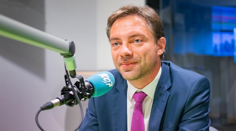 De Fred Keup war Invité vum Dag beim Radio 100,7