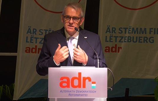 Jean Schoos: Realpolitik geet just mat der ADR!