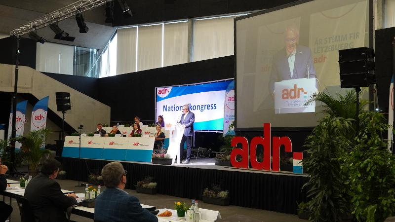ADR-Kongress 2020: Mir sinn d'Partei vun der Zukunft!
