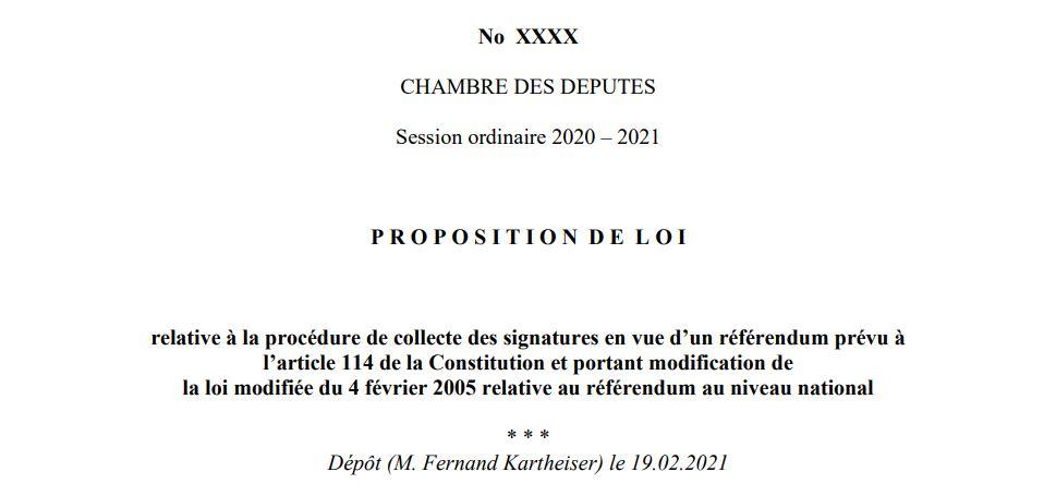 En nationale Referendum och elektronesch ënnerstëtzen kënnen…