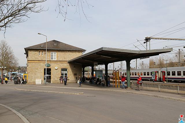 Chaos op der Ettelbrécker Gare