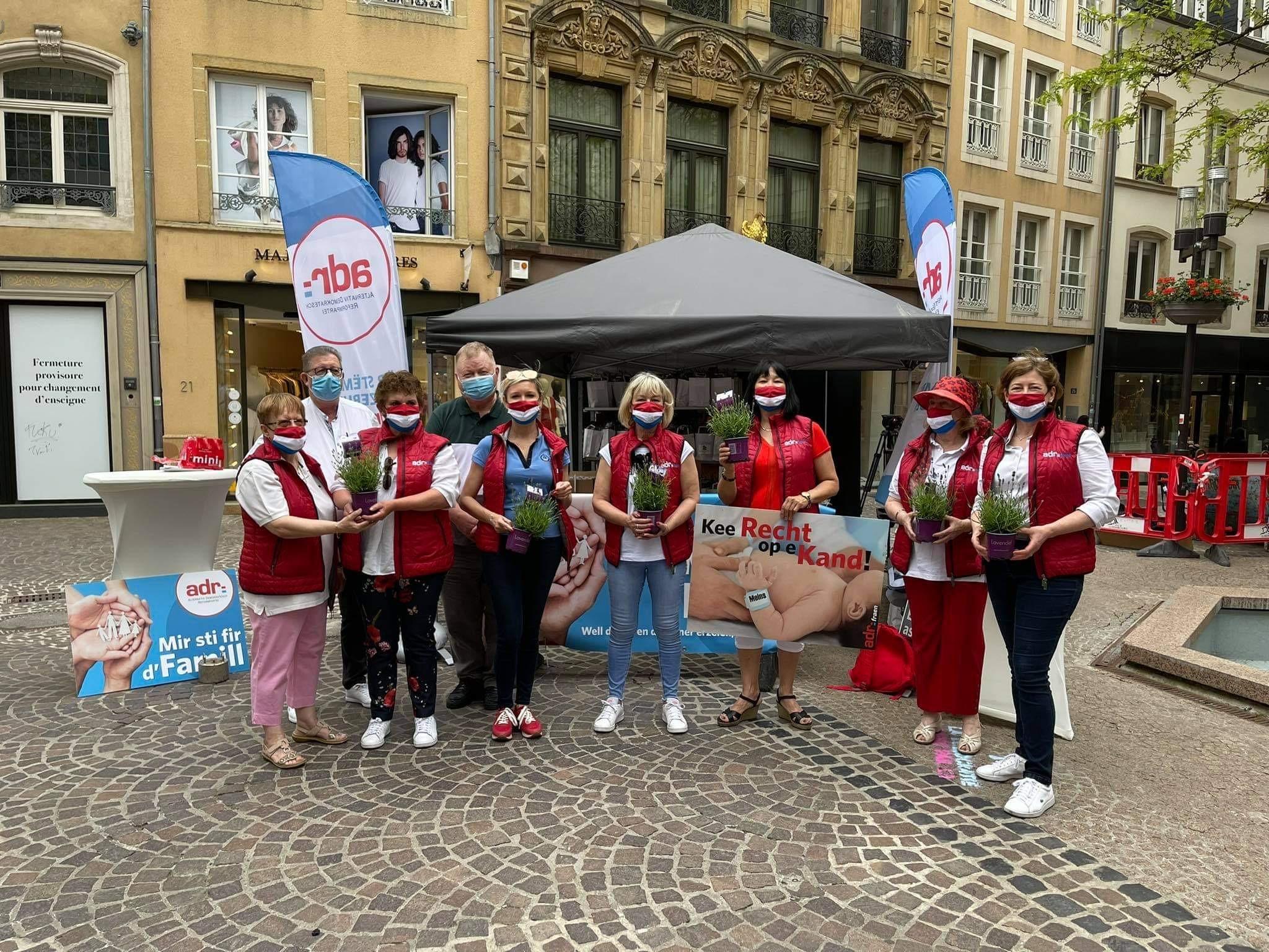 ADR Fraen on Tour fir Mammendag 2021
